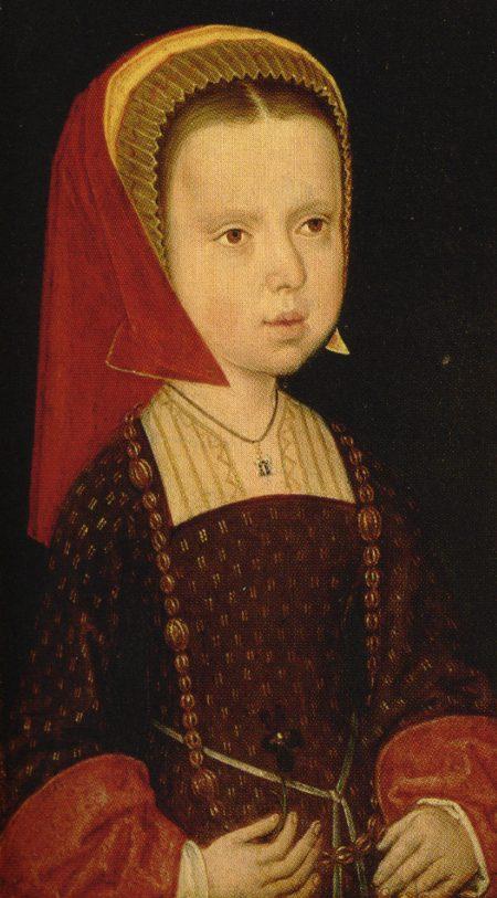Eleonore als Kind